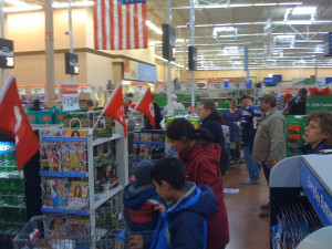 Line at WalMart on Christmas Eve - Edmond, Oklahoma