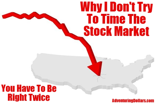 Don't Try To Time The Market – You Have To Be Right Twice!